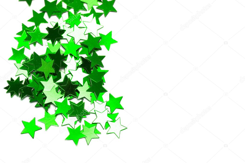 Celebration stars on white background — Stock Photo #1415112
