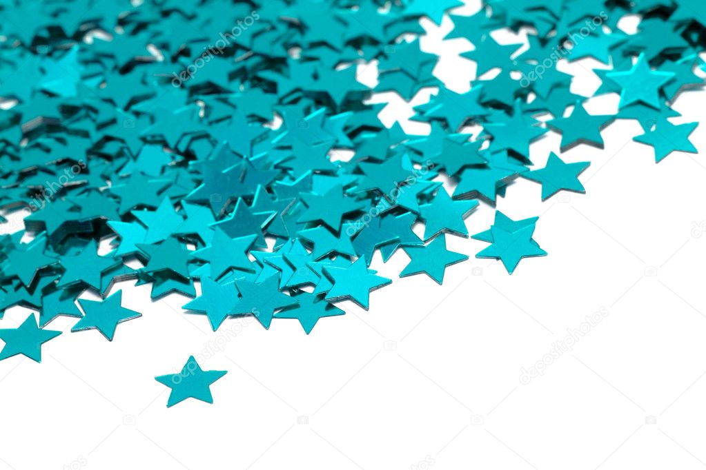 Celebration stars on white background  — Stock Photo #1417632