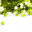 Celebration stars on white background — 图库照片