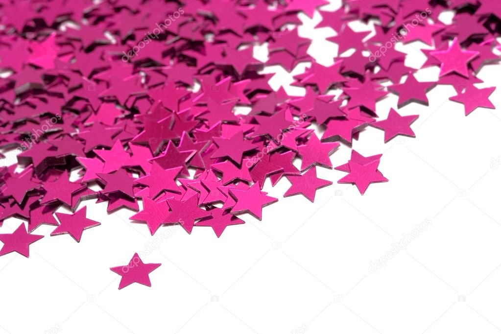 Celebration stars on white background  — Stock Photo #1429991