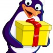 Royalty-Free Stock Imagen vectorial: Christmas Penguin