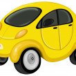 Royalty-Free Stock Vector Image: Cute car