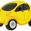 Royalty-Free Stock Imagen vectorial: Cute car