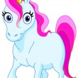 Royalty-Free Stock Vector Image: Cute unicorn