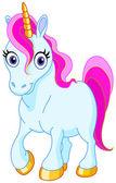 Cute unicorn — Stock Vector
