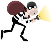 Thief — Stock Vector