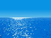 Ocean landscape — Stock Vector