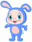 Baby bunny — Stock Vector