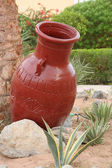 Earthen jug — Stock Photo