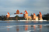 Lithuania castle — Stock Photo