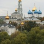 Greatest Russian monastery — Stock Photo
