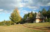 Old village in Serbia — Stock Photo