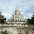 Basilica The Sacre-Coeur in Paris — Stock Photo