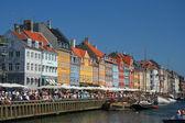 New harbor, Copenhagen — Stock Photo