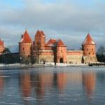 Lithuania castle - Trakai — Stock Photo