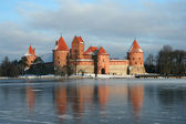 Lithuania castle - Trakai — Stock Photo