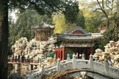 Traditional chinese park — Stock Photo