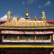 Stock Photo: Decor of Jokhang Temple