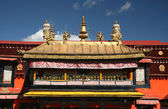 Decor of the Jokhang Temple — Stock Photo