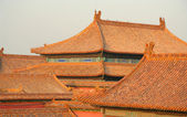 Roofs of Forbidden city — Stock Photo