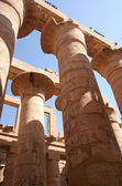 Columns of Karnak Temple at Luxor, Egypt — Stock Photo