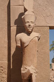Pharaoh statue in Karnak Temple — Stock Photo