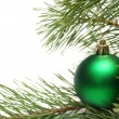 Christmas tree branch — Stock Photo #1392245