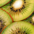 Close-up Studio Shot of Kiwi Fruit — Stock Photo