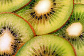 Close-up Studio Shot of Kiwi Fruit — Stok fotoğraf