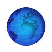 Globe illustration — Stock Photo