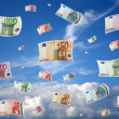Flying money — Stock Photo #1462149