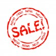 Royalty-Free Stock Photo: Sale stamp
