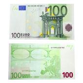 Nota de 100 euro — Fotografia Stock
