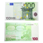 100 euro banknot — Stok fotoğraf