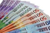 Isolated euros — Stock Photo