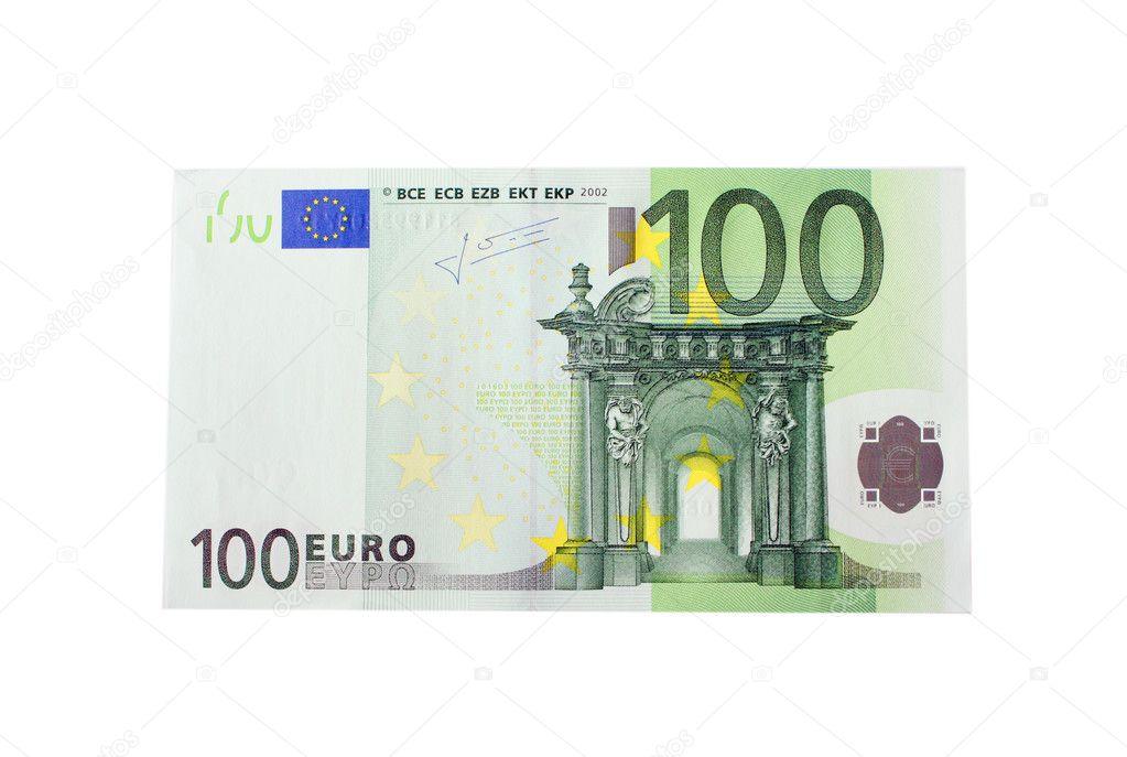 Bankbiljet van 100 euro stockfoto blackan 1462088 for Wohnlandschaft 100 euro