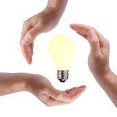 Saving energy concept — Stock Photo