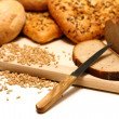 Assortment of bread - Stock Photo