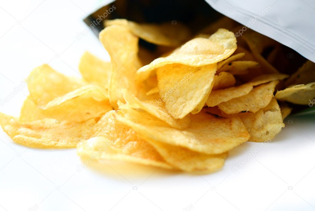 Potato chips — Stock Photo #2396069