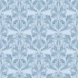 Royalty-Free Stock Vector Image: Blue seamless wallpaper pattern