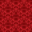 Red seamless wallpaper - Stock Vector