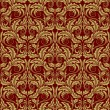 Royalty-Free Stock Imagen vectorial: Red seamless wallpaper