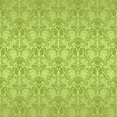 Green seamless wallpaper — Stock Vector
