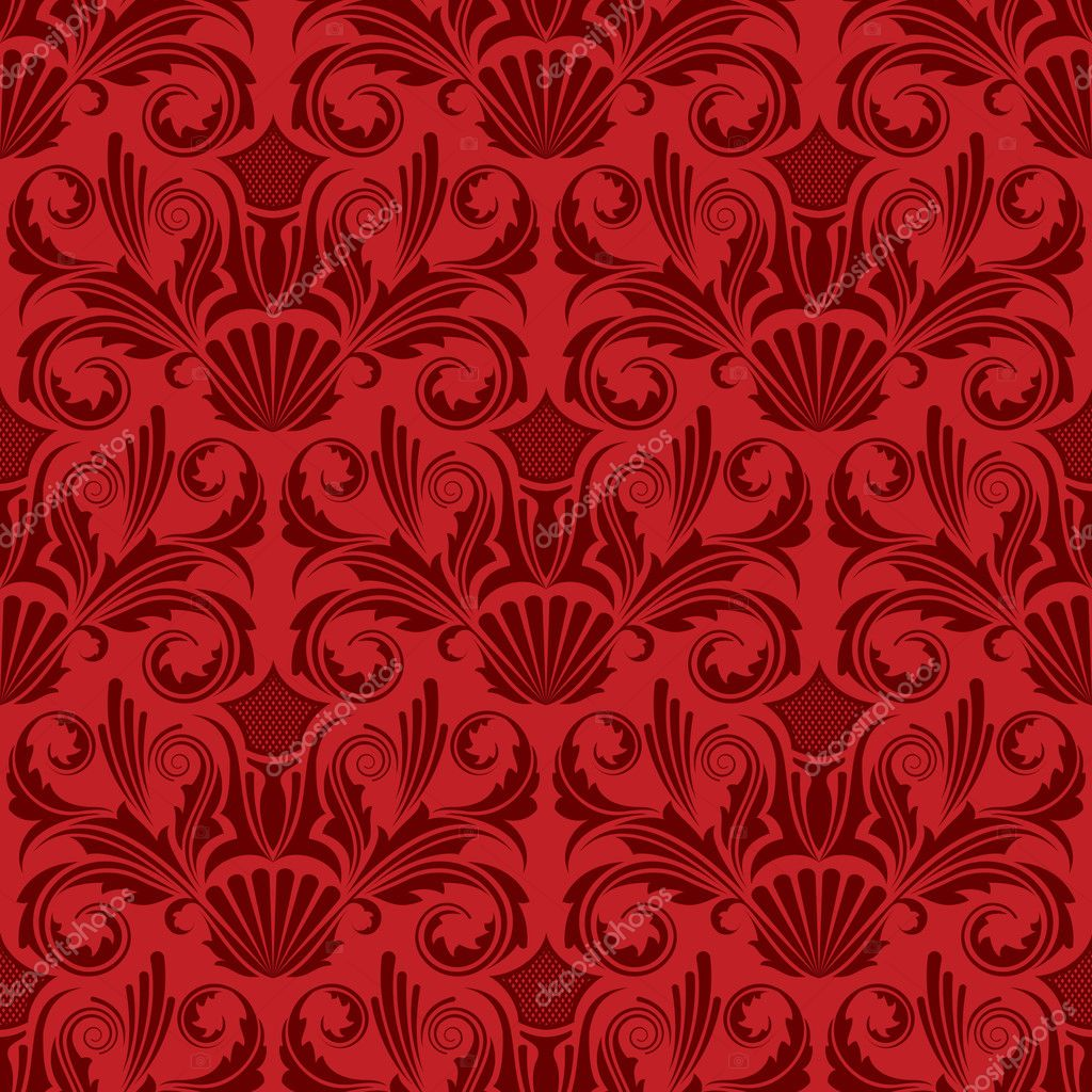 Seamless floral pattern. Simply drop swatch into swatch palette to create the fill. Floral elements are isolated, and are very easy to edit. — Stock Vector #1410742