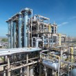 gas verwerkende industrie — Stockfoto