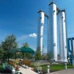 Газовая промышленность — Стоковое фото
