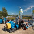 Gas processing industry - Stock Photo