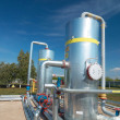 Gas processing industry — Stockfoto