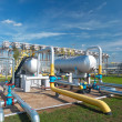 Gas processing industry - Foto de Stock