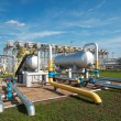 Gas processing industry — Foto Stock
